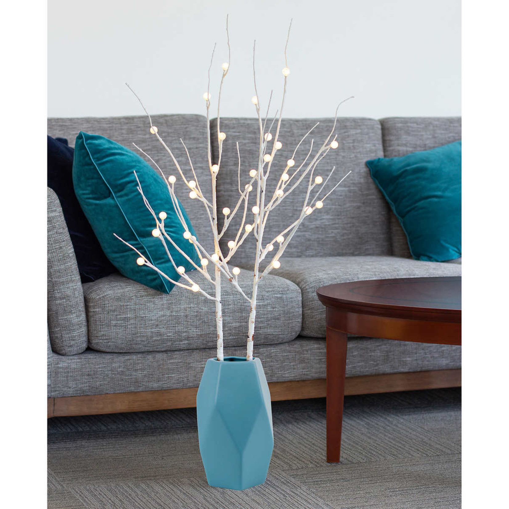 Sterno Home LED Decor Branches WHITE (set of 2)