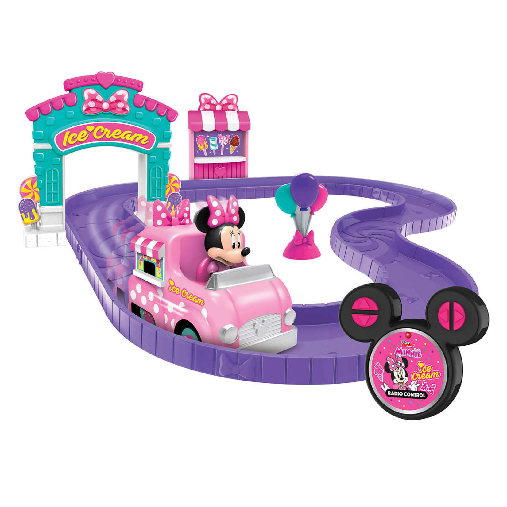 Disney Minnie Ice Cream Shop Track Set