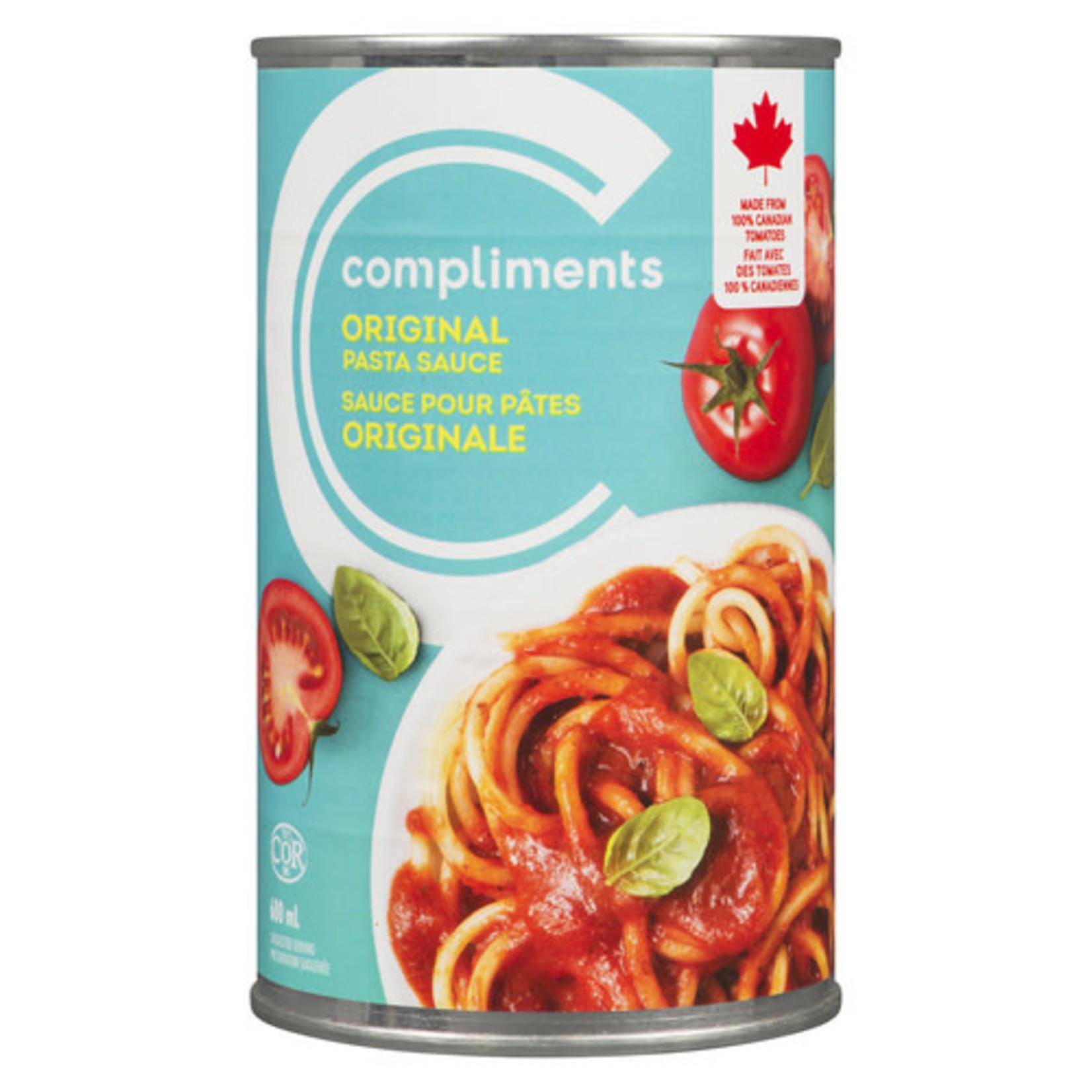 Compliments Original Pasta Sauce 680ml