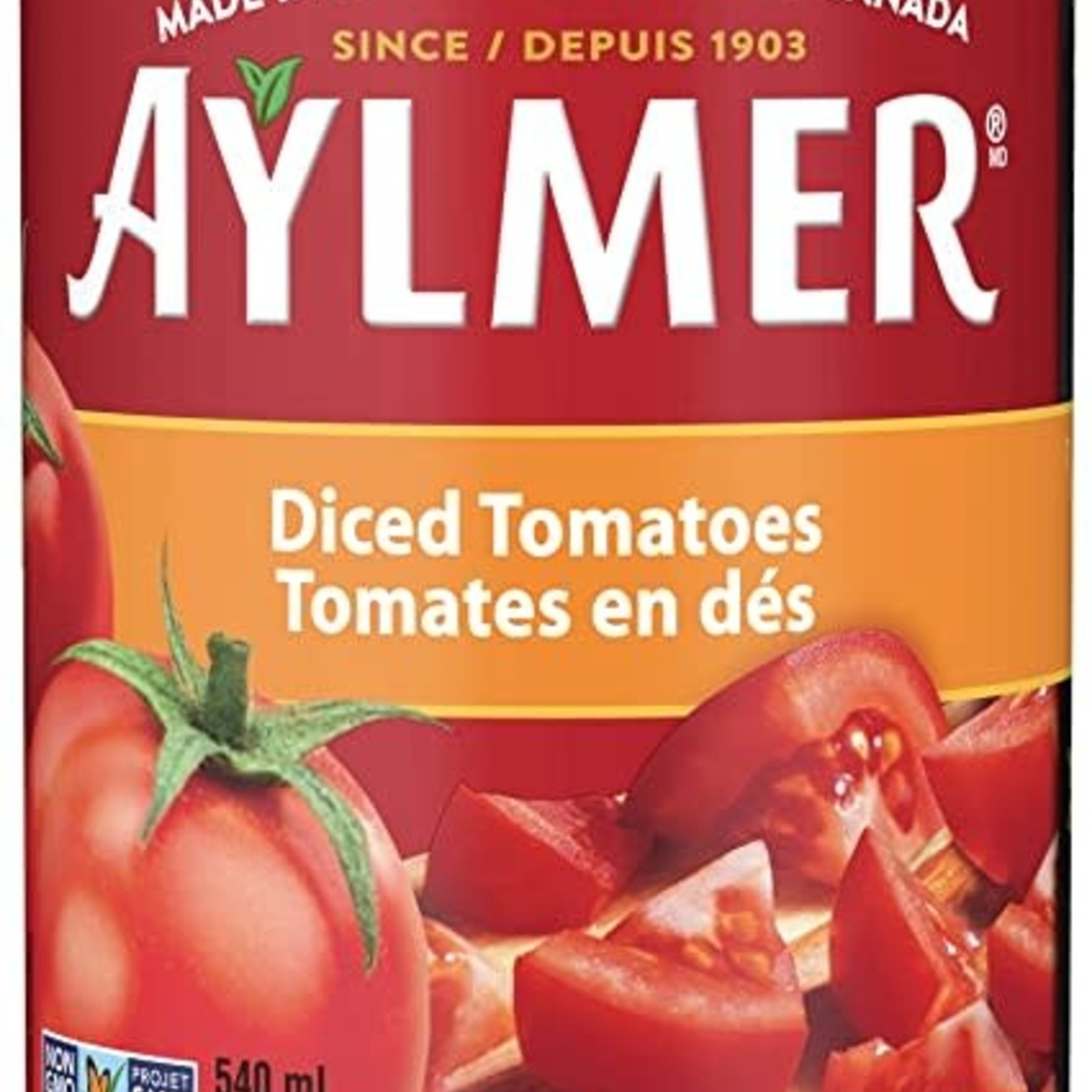 Aylmer Diced Tomatoes 540ml