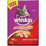 Whiskas Meaty Selections Dry Cat Food 11.6kg