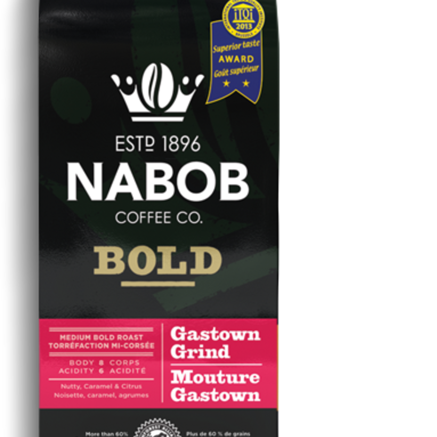 Nabob Bold Gastown Grind Cround Coffee 300g