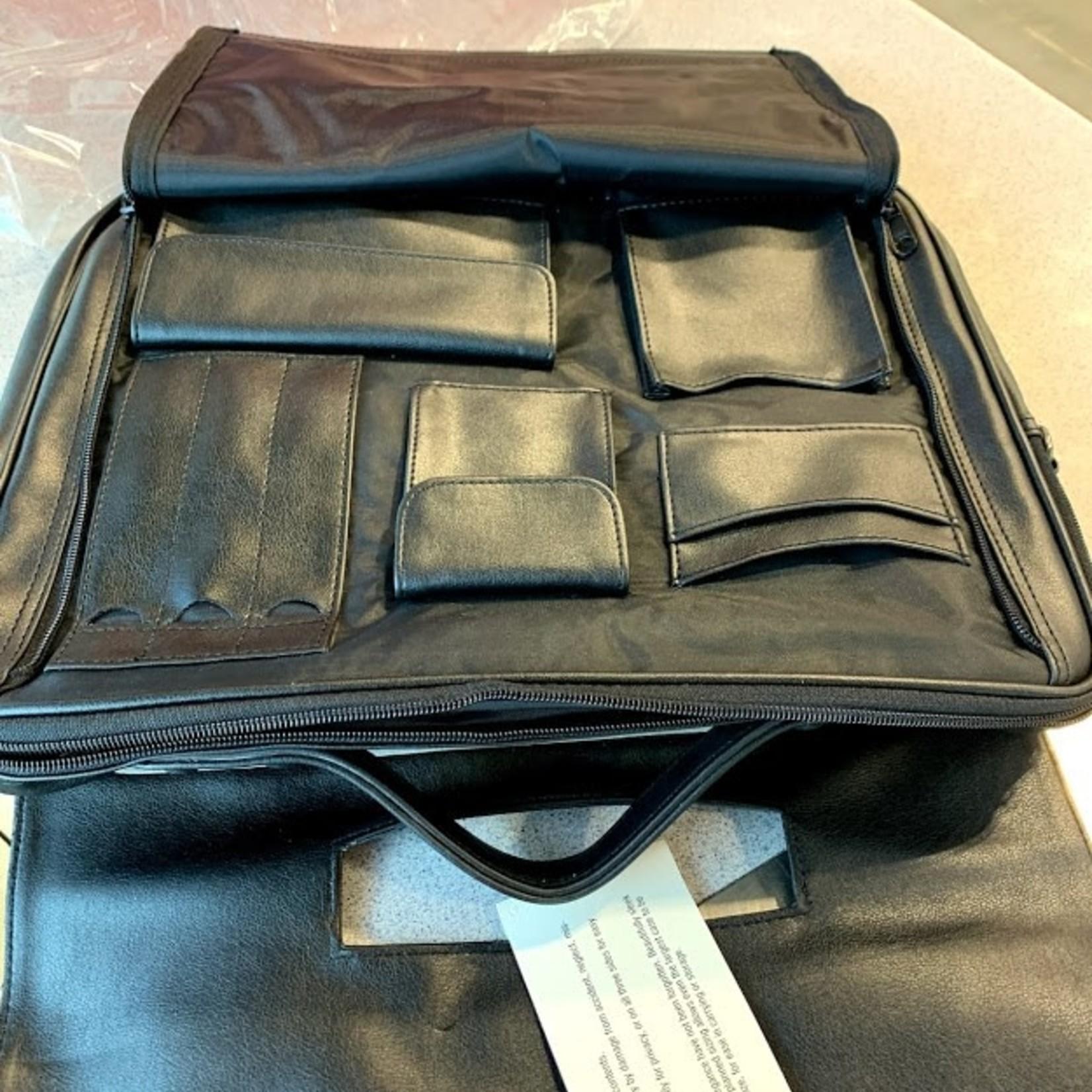 Leather Briefcase Laptop Bag