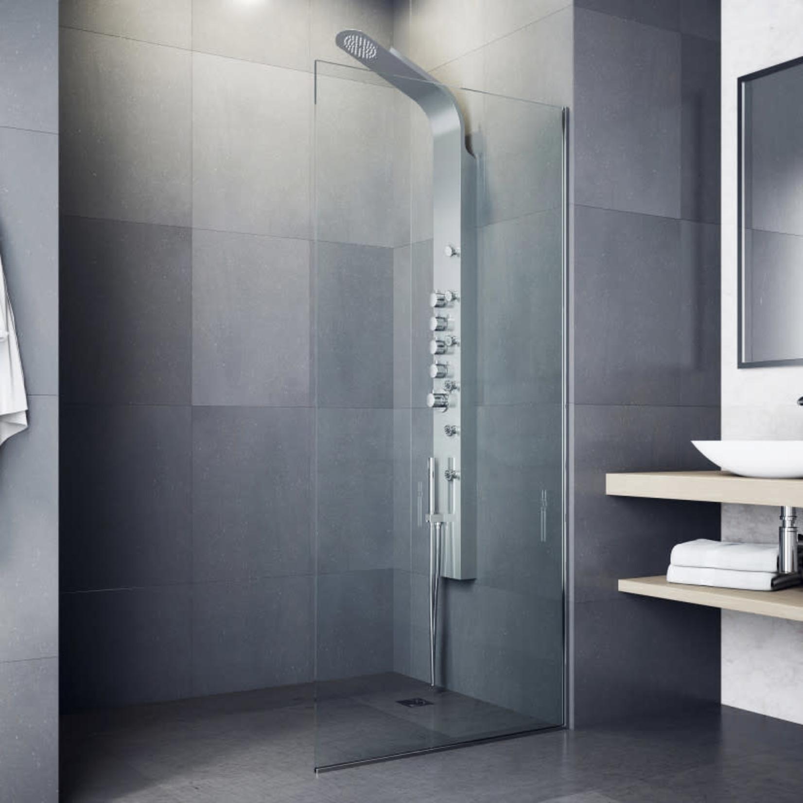 Vigo Brielle Shower Panel System with Rain Shower Head *Open box, new