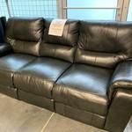 Pulaski Leather Reclining Sofa