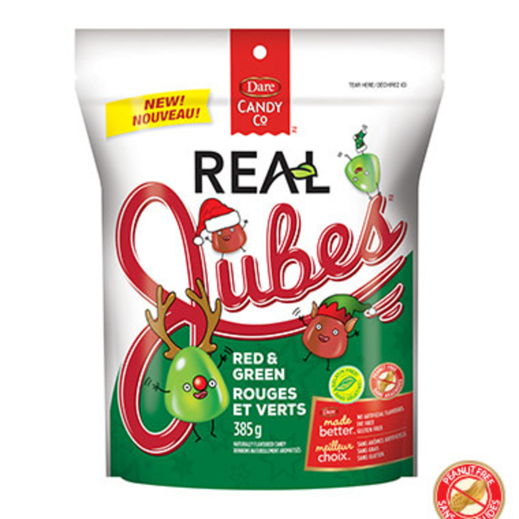 Dare Real Jubes Red & Green 385g