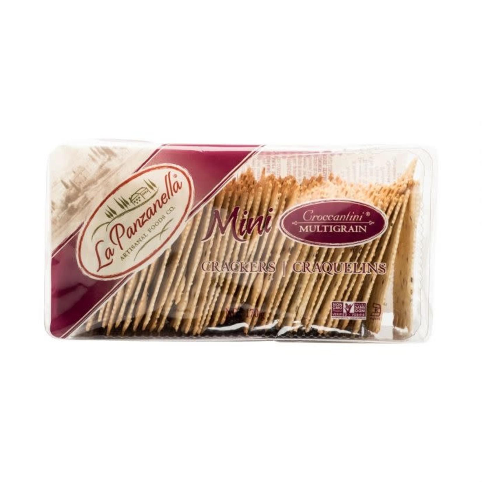 Mini Croccantini Multigrain Crackers 170g