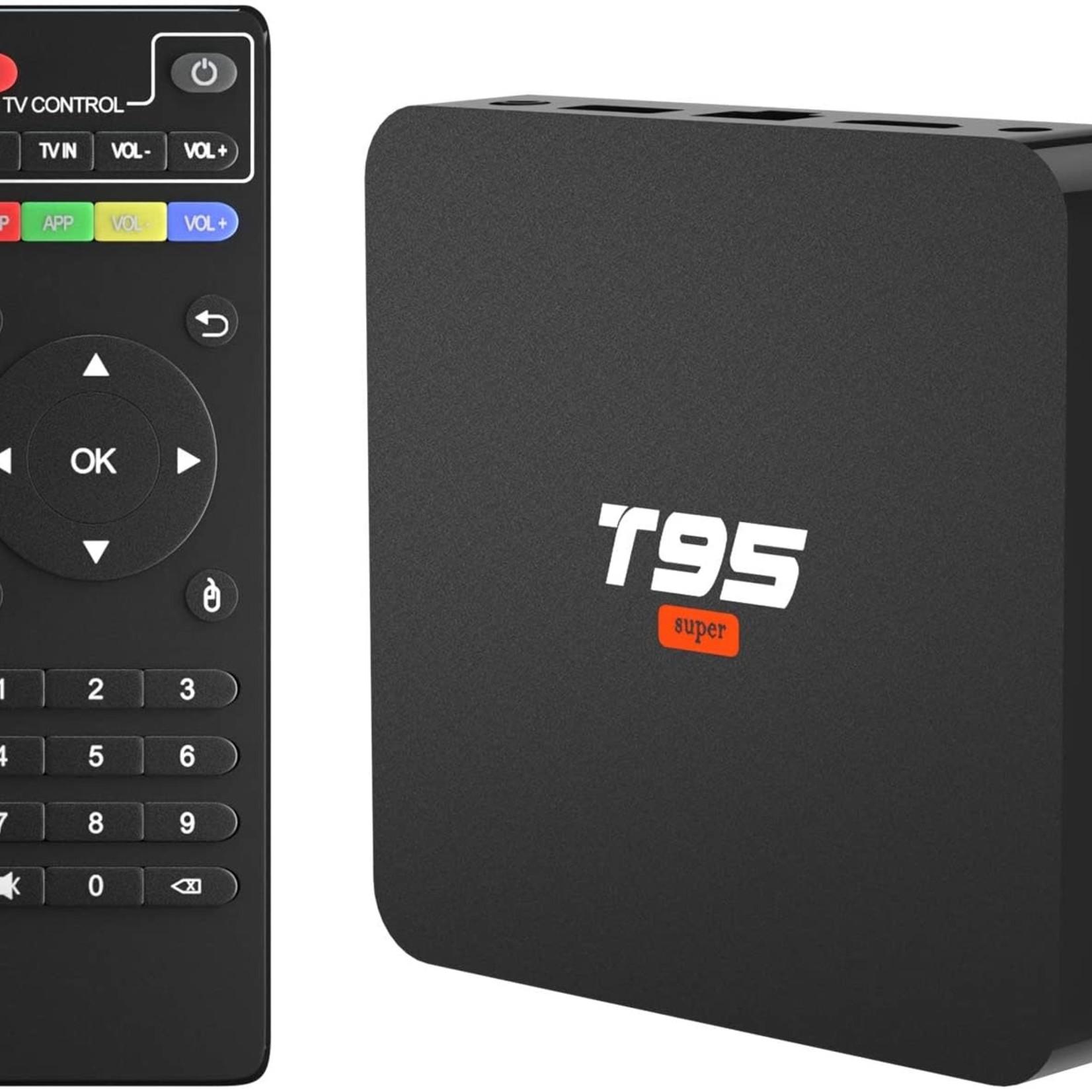 Android 10 T95 Super 4K Ultra HD TV Box 2GB