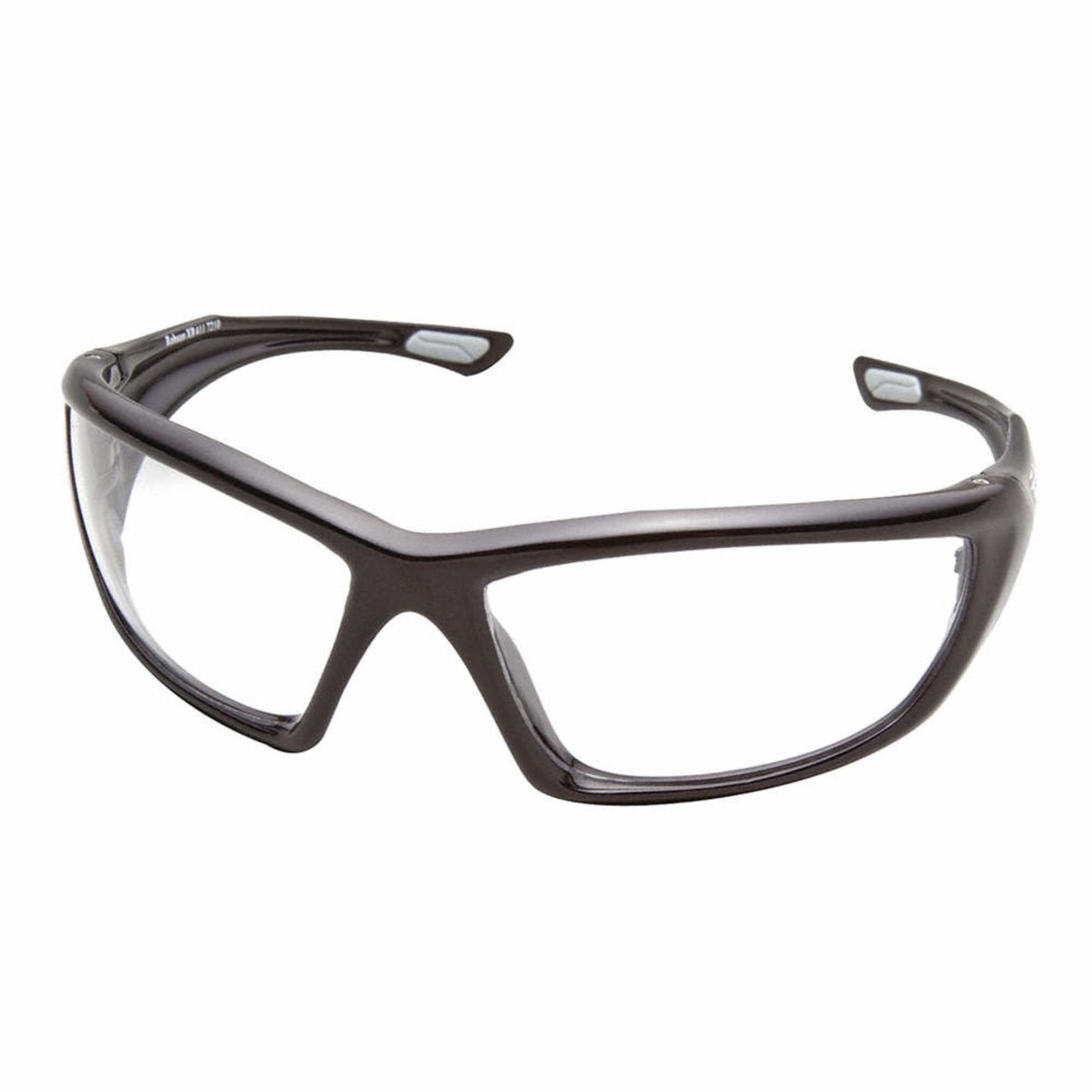 Edge Eywear ROBSON Safety Glasses -Black with Clear lens XR411