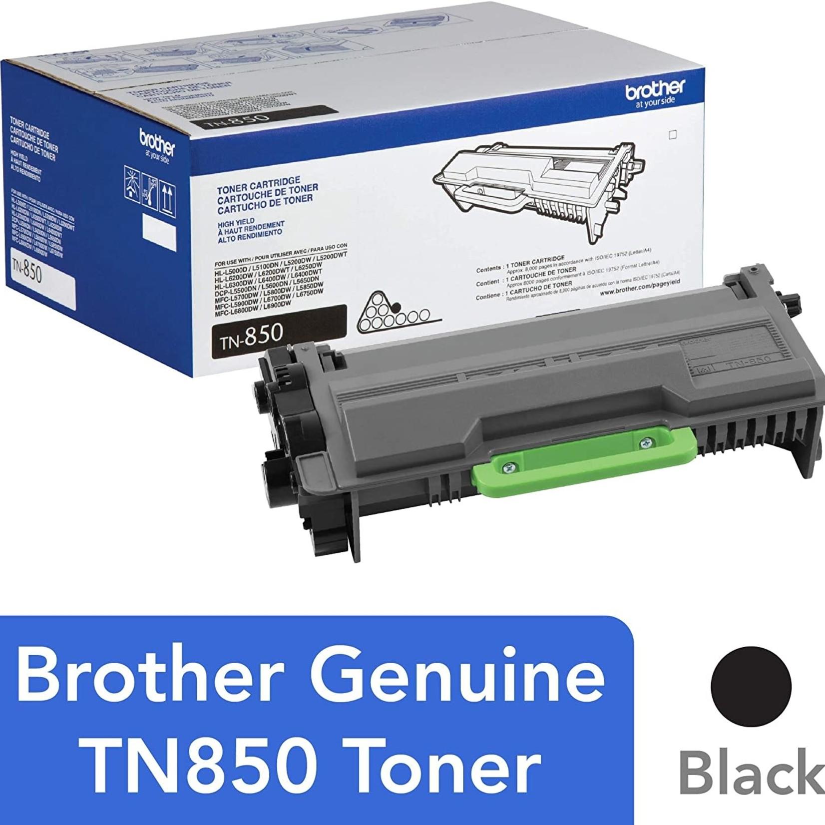 Brother TN-850 High Yield Toner Cartridge