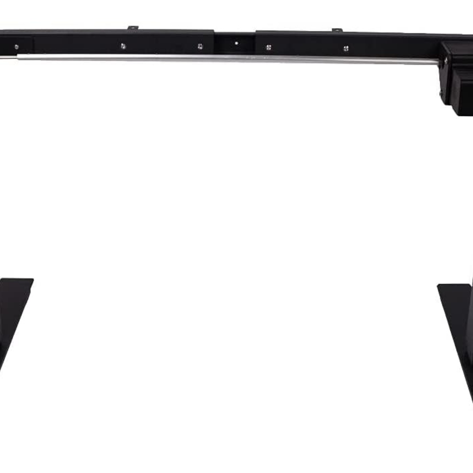 AnthroDesk Sit to Stand Electric Adjustable Height Standing Desk with Easy Up/Down Controls (Black Programmable)