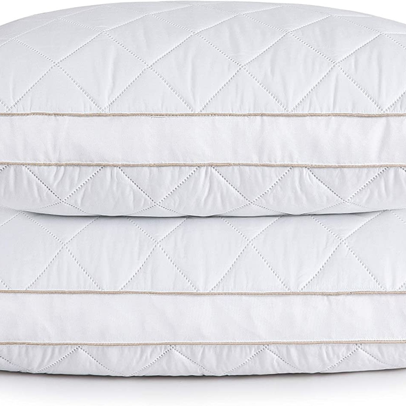 puredown Natural Goose Down Feather Pillow KING