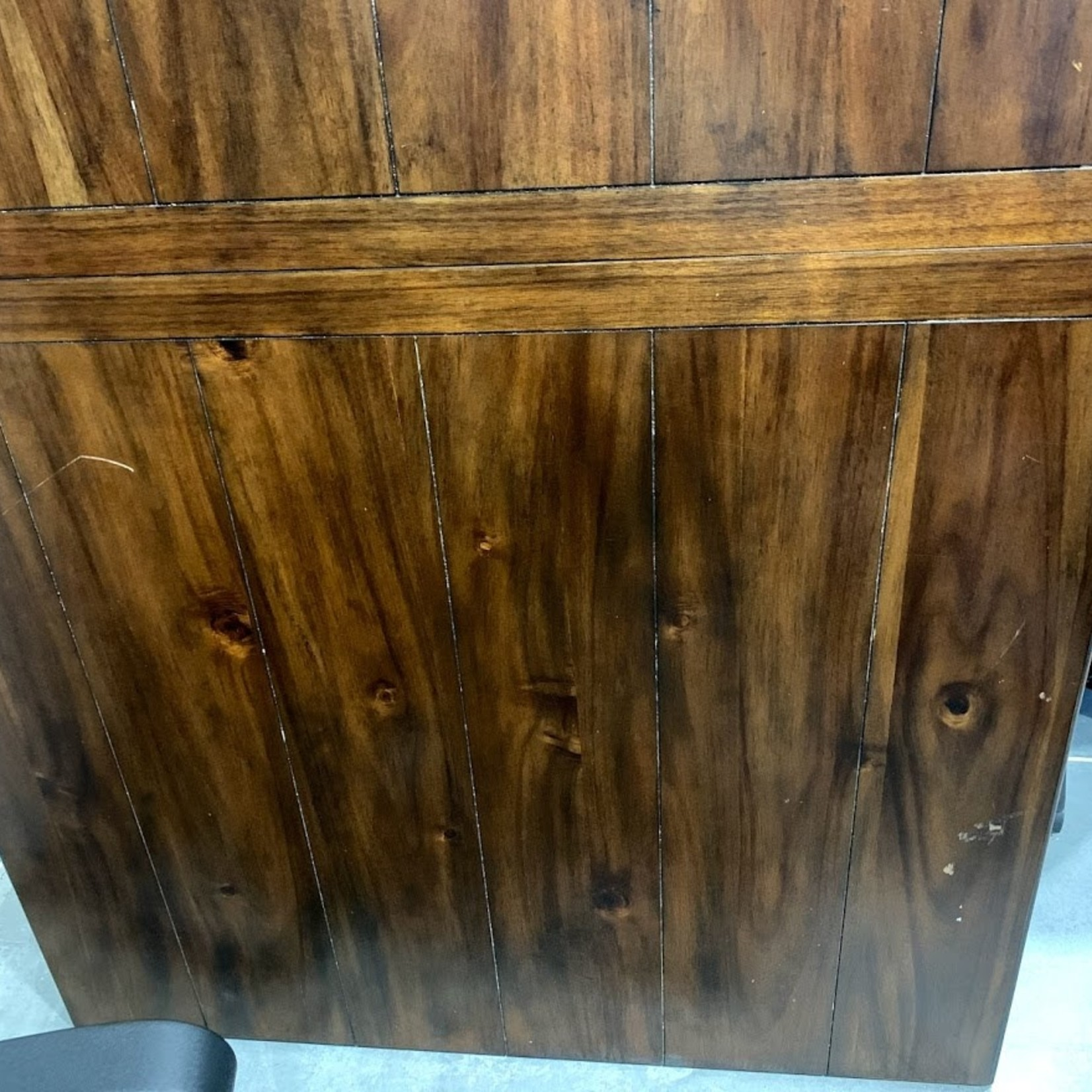 """42""""x73"""" Wood Dining Table Top with leaf  *TOP ONLY, some surface scratches and scuffs"""