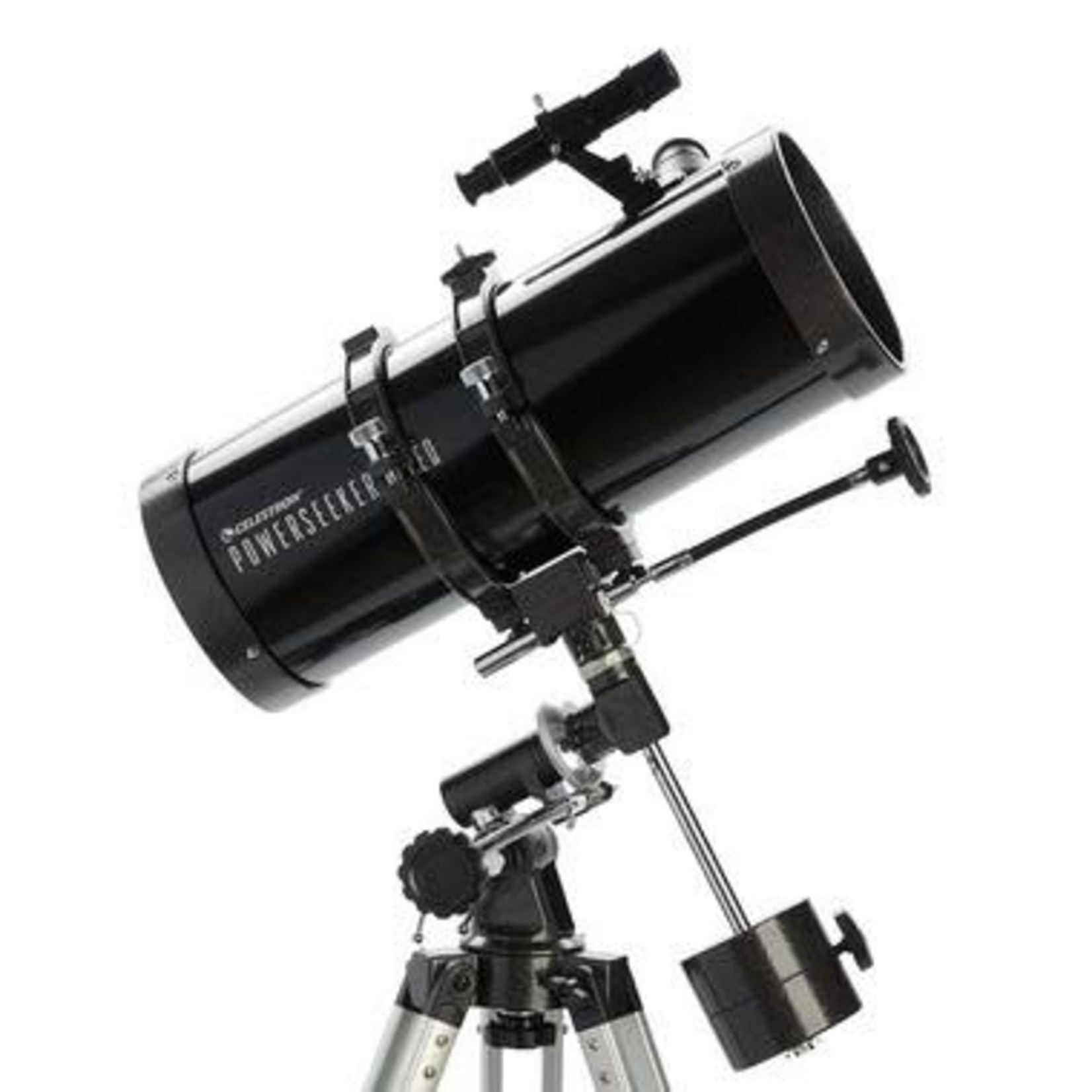 Celestron PowerSeeker 127EQ Telescope & Celestron 94306 PowerSeeker Accessory Kit Telescope (Black)