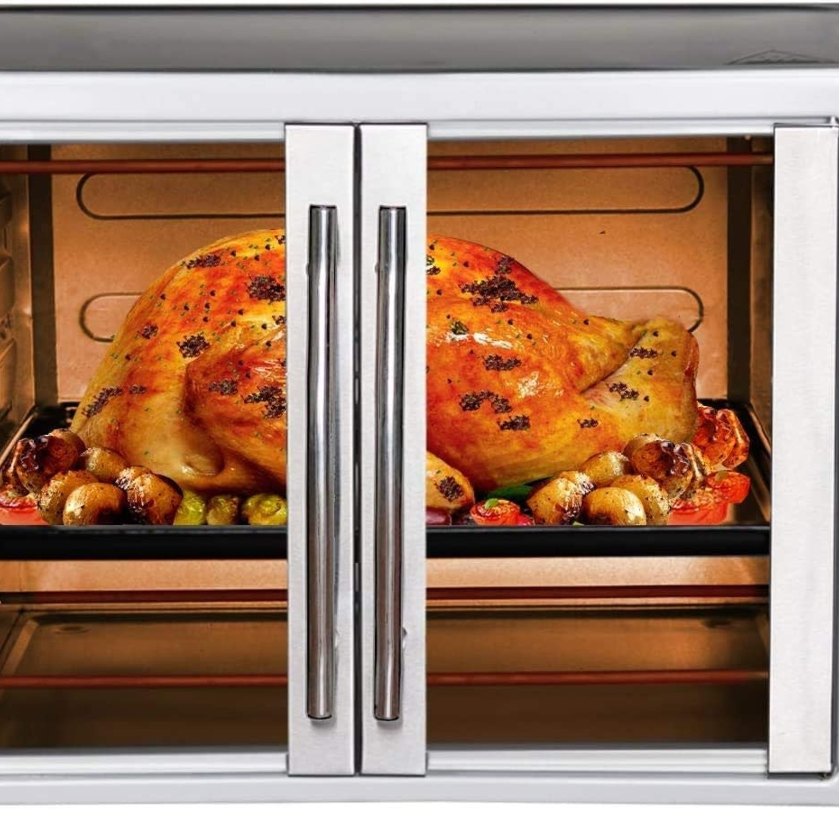 Luby  Toaster Oven with French Doors 55 L GH55 *Open box, dent on top