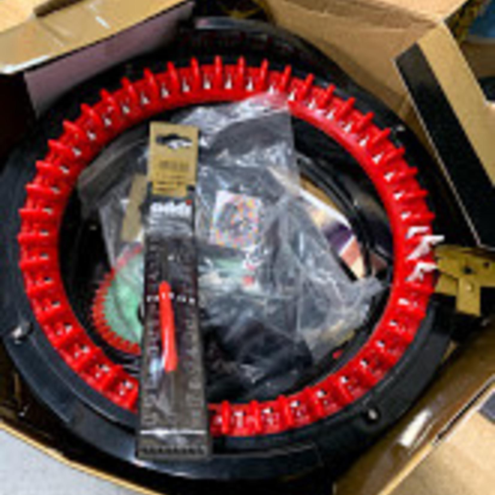 ADDI EXPRESS KINGSIZE - CIRCULAR KNITTING MACHINE *Open box, missing one plastic needle