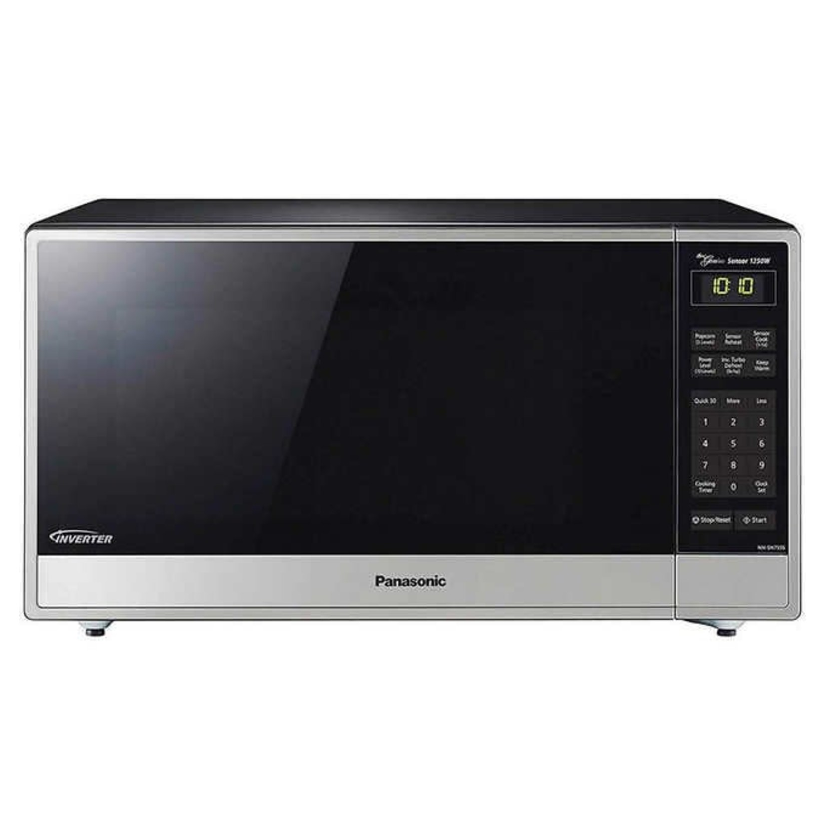 Panasonic 1.6CuFt Countertop Microwave with Genius Inverter Technology, NN-SN755S *New, but dented