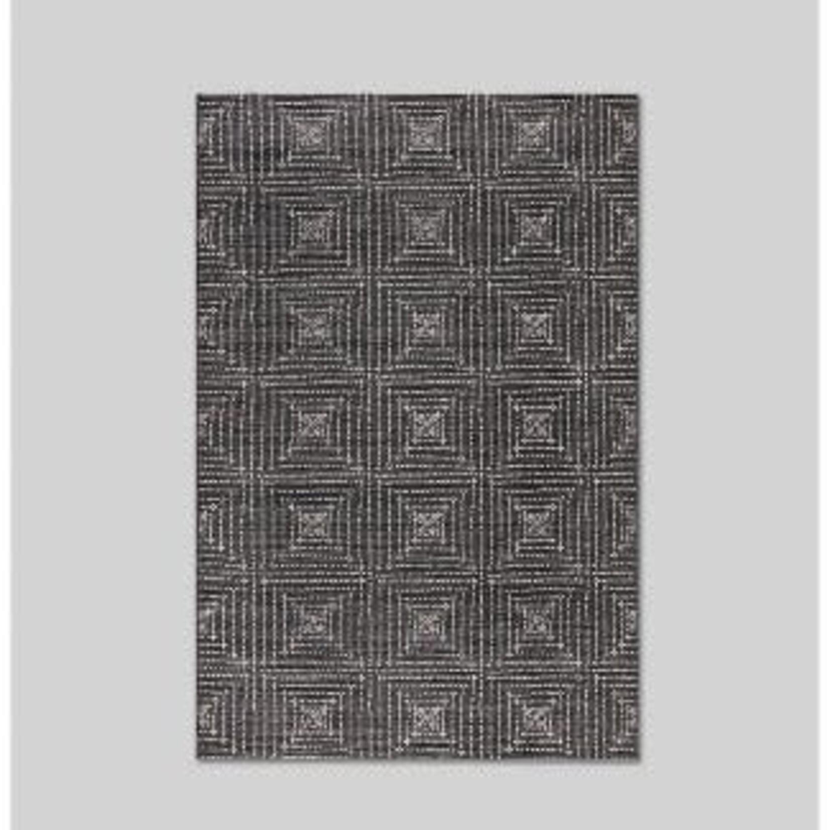 Diamond Pixel Outdoor Rug Black - Project 62 5'x7'