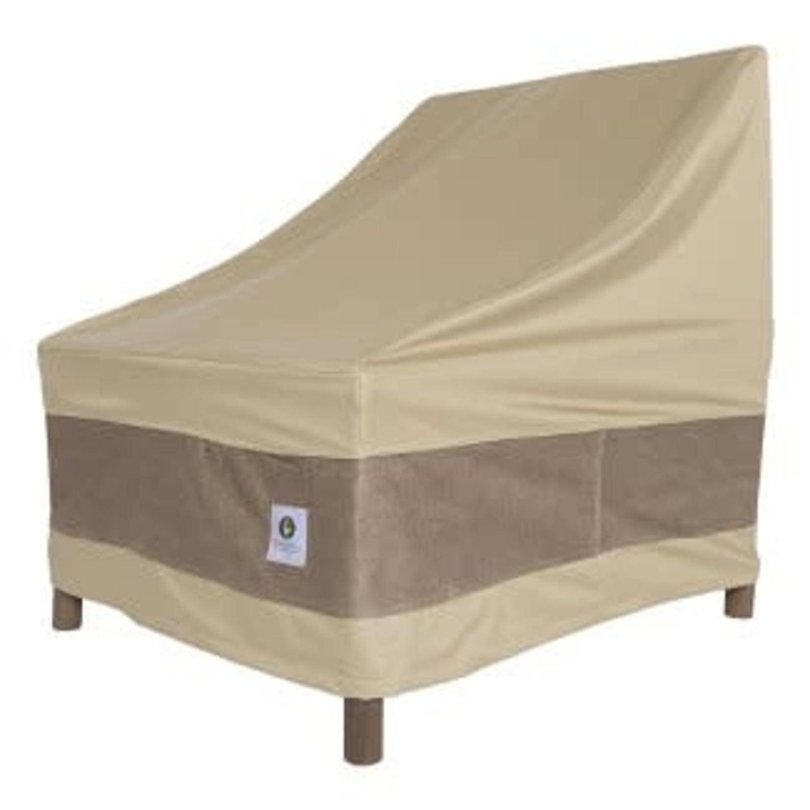 "36""W Elegant Patio Chair Cover Coffee - Classic Accessories"
