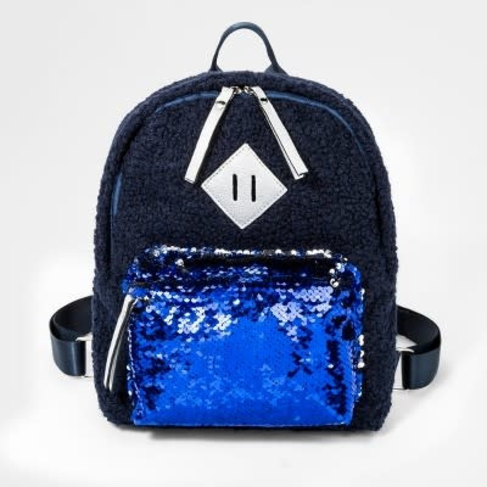 Sherpa Sequin Backpack- Cat & Jack™ Navy