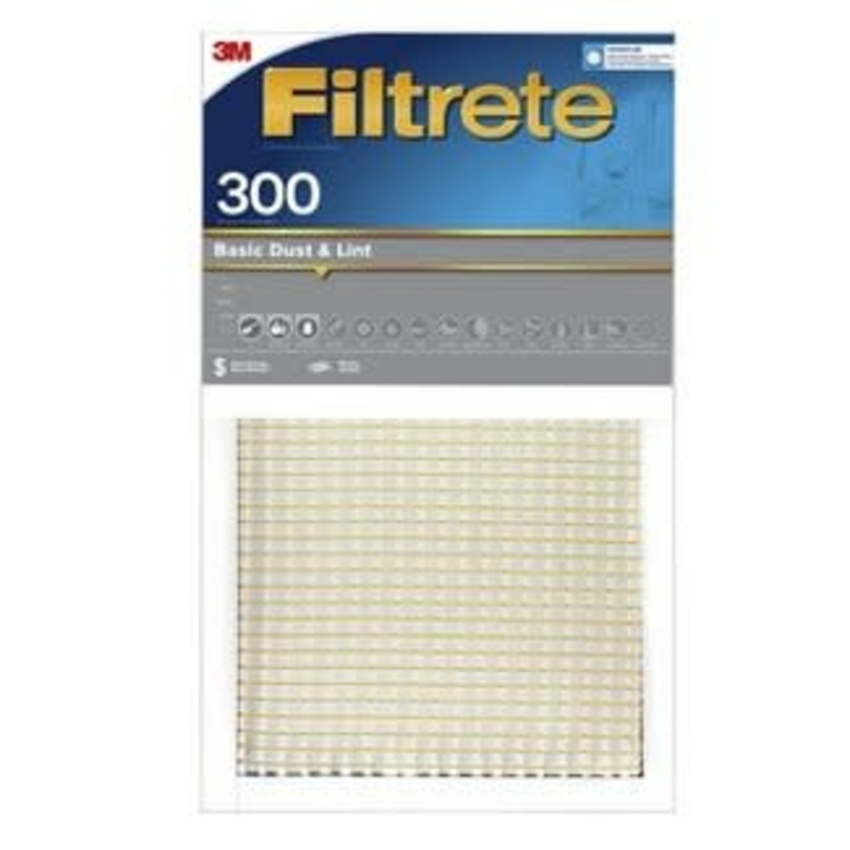 Filtrete Basic Dust and Lint Air Filter 300 MPR