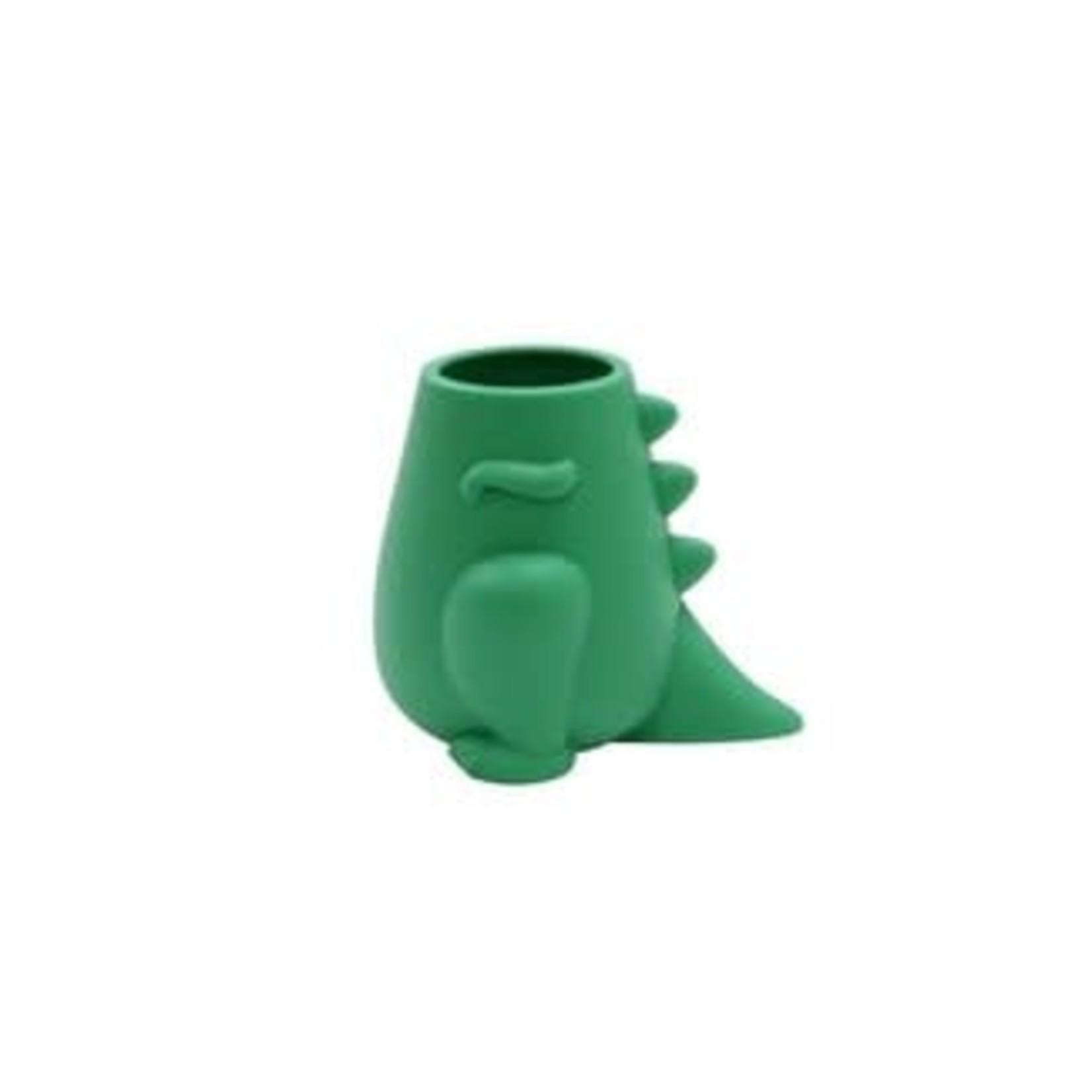Kids' Toothbrush Holder Dino Green - Pillowfort