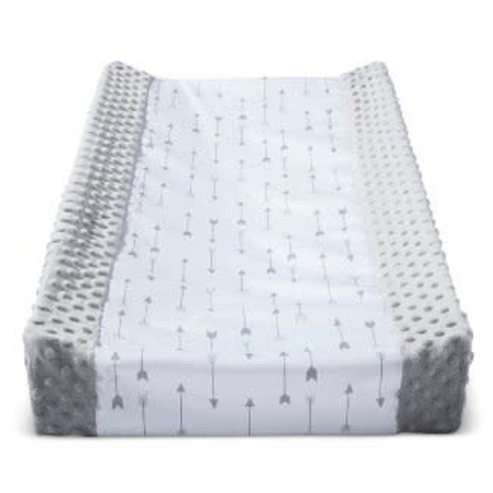 Cloud Island | Wipeable Changing Pad Cover with Plush Sides -Various Patterns