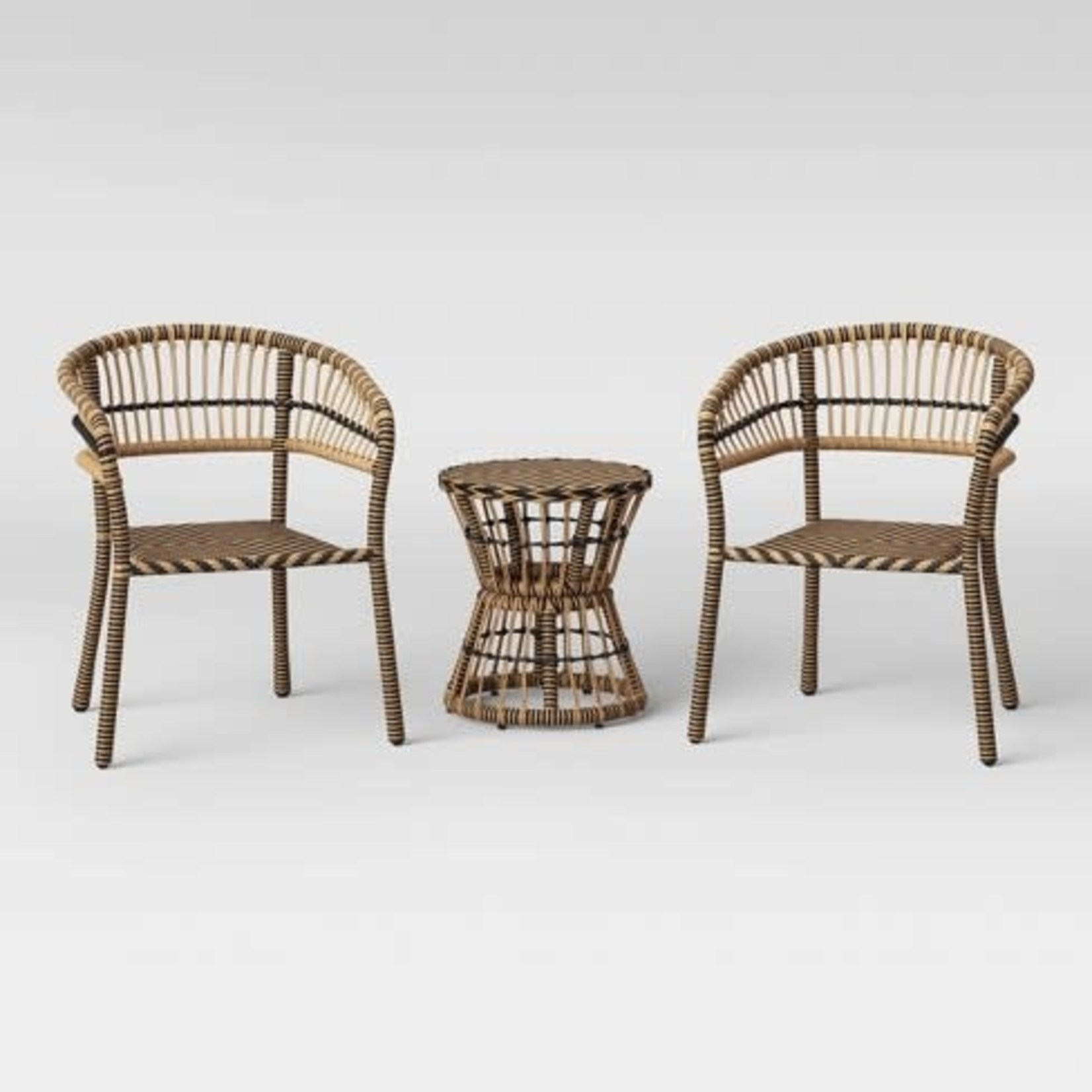OpalHouse Aster 3pc Patio Chat Set