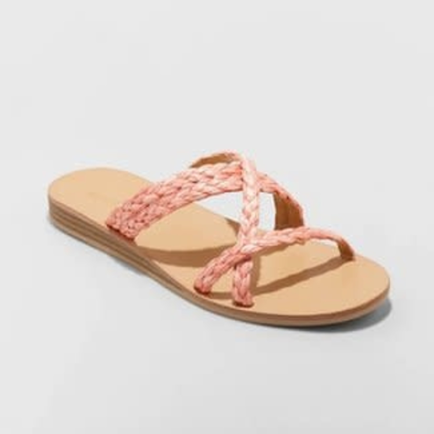 Universal Thread | Women's Opal Strappy Slide Sandals SIze 9