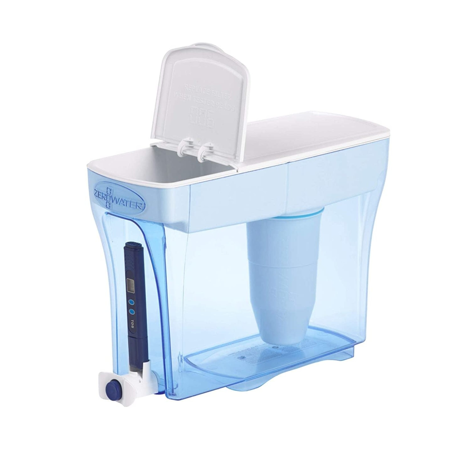ZeroWater 23 Cup Water Filter Pitcher with Water Quality Meter ZD018