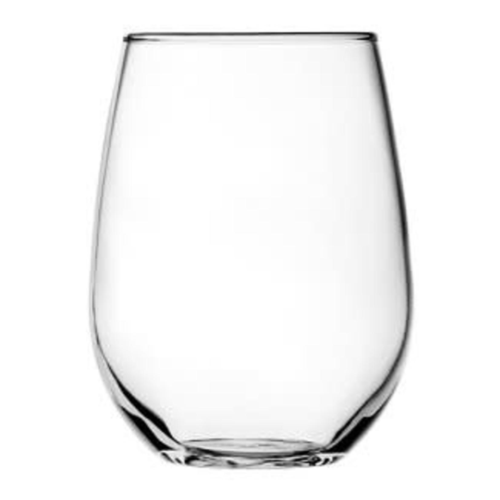 Anchor Vienna Stemless Wine Glass 15oz