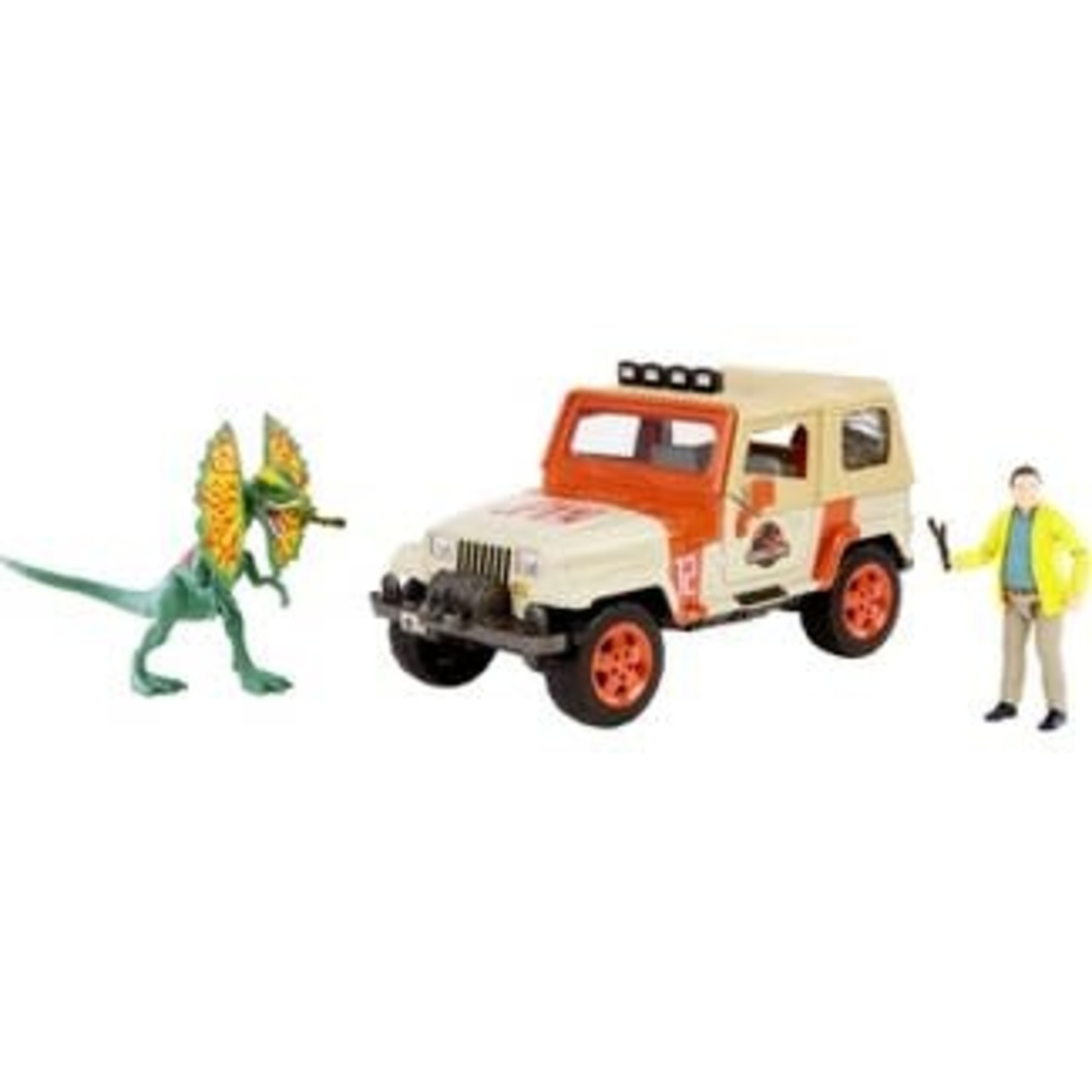 Jurassic World Legacy Collection - Dennis Nedry Getaway Pack