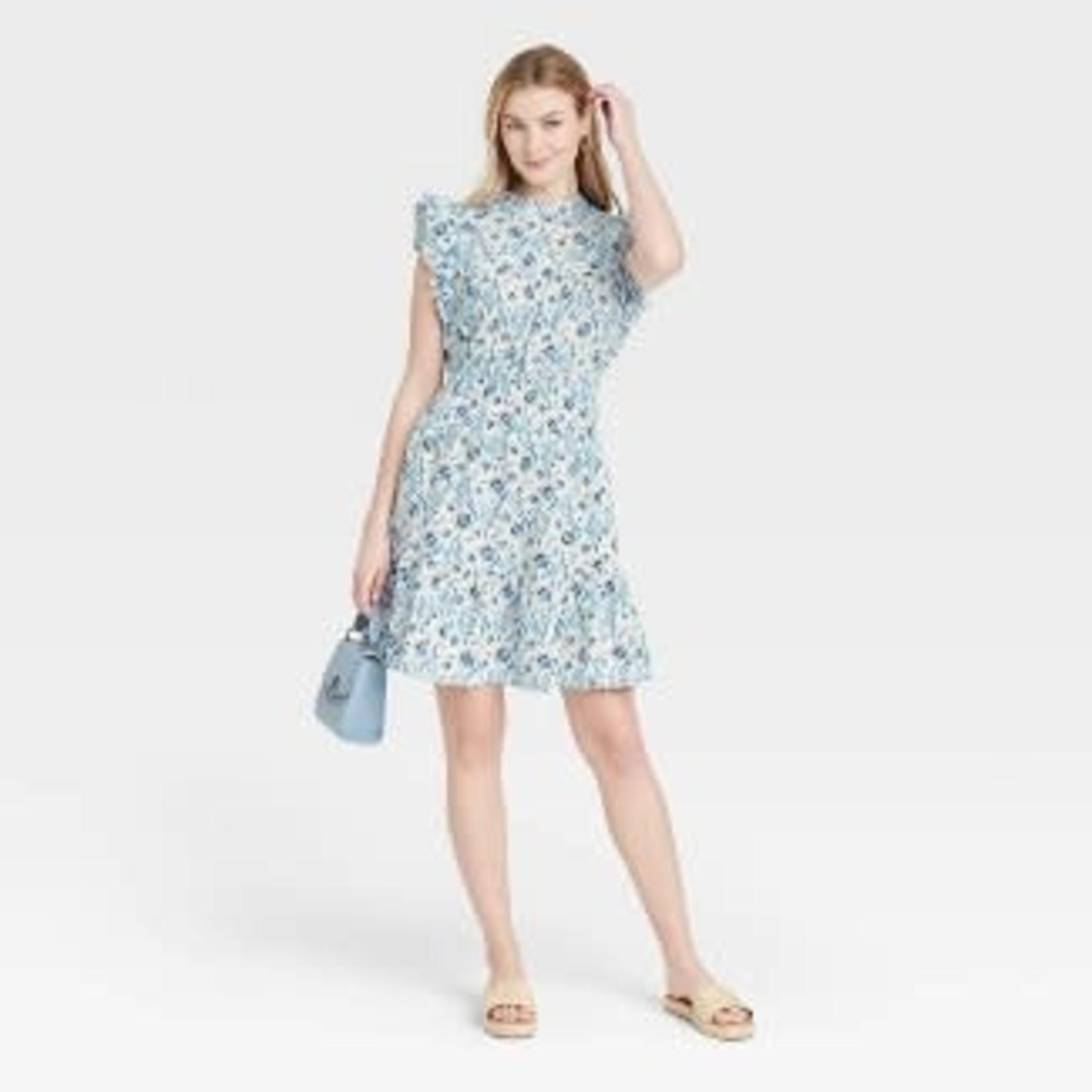 Universal Thread | Women's Flutter Sleeveless Dress-L
