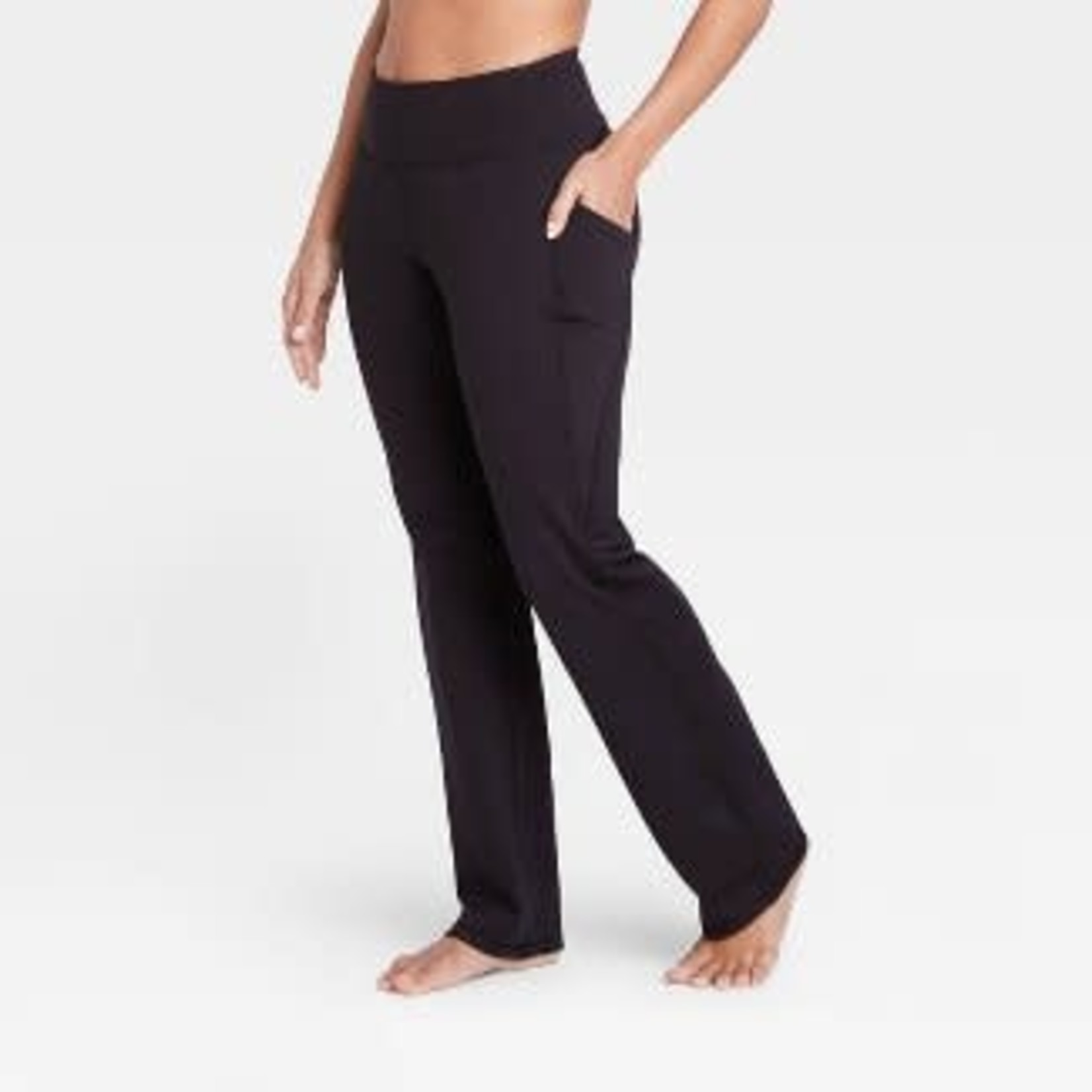 All in Motion   Women's Contour Curvy High-Waisted Straight Leg Pants with Power Waist-XL