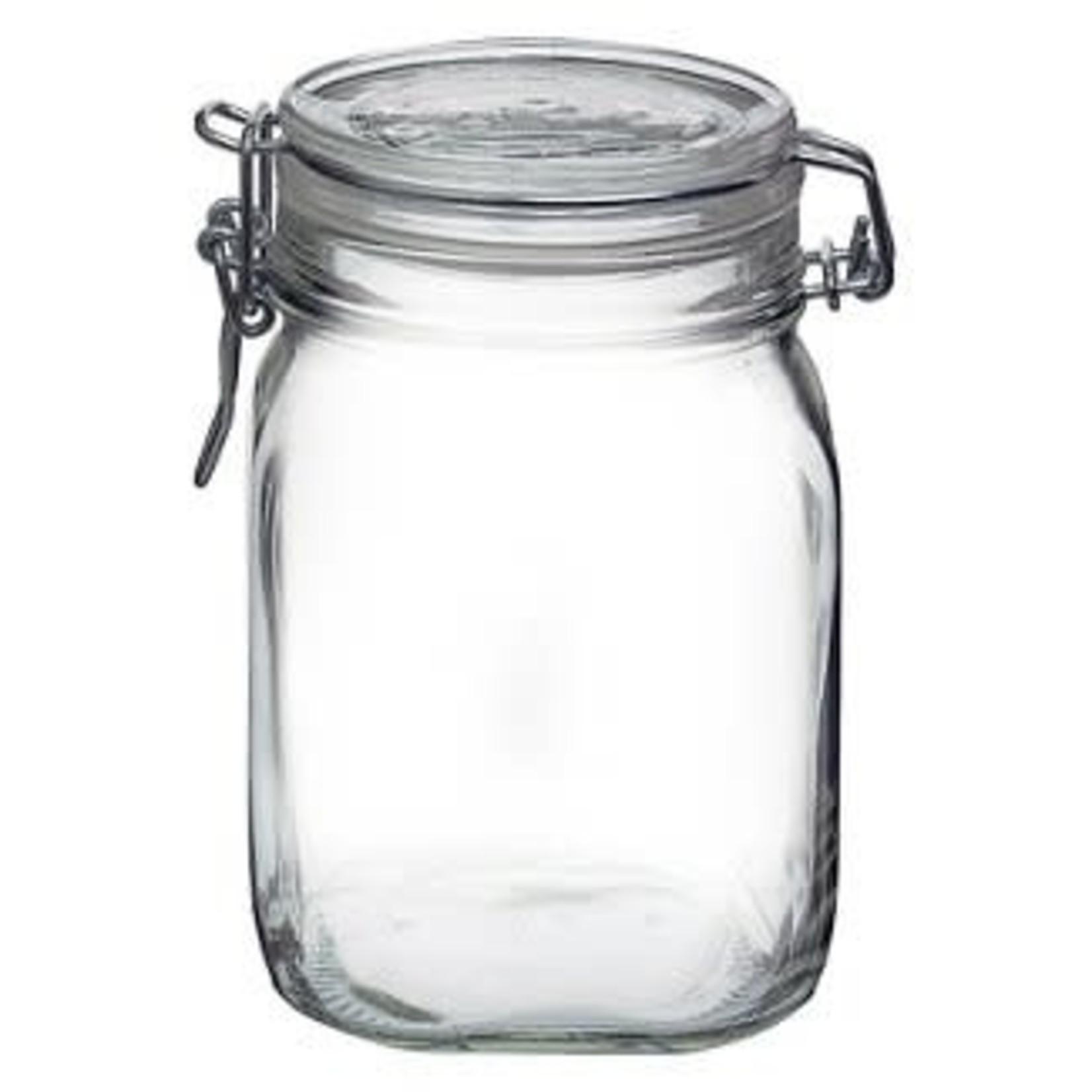 Bormioli Rocco Fido 1 Liter Clamp Jar