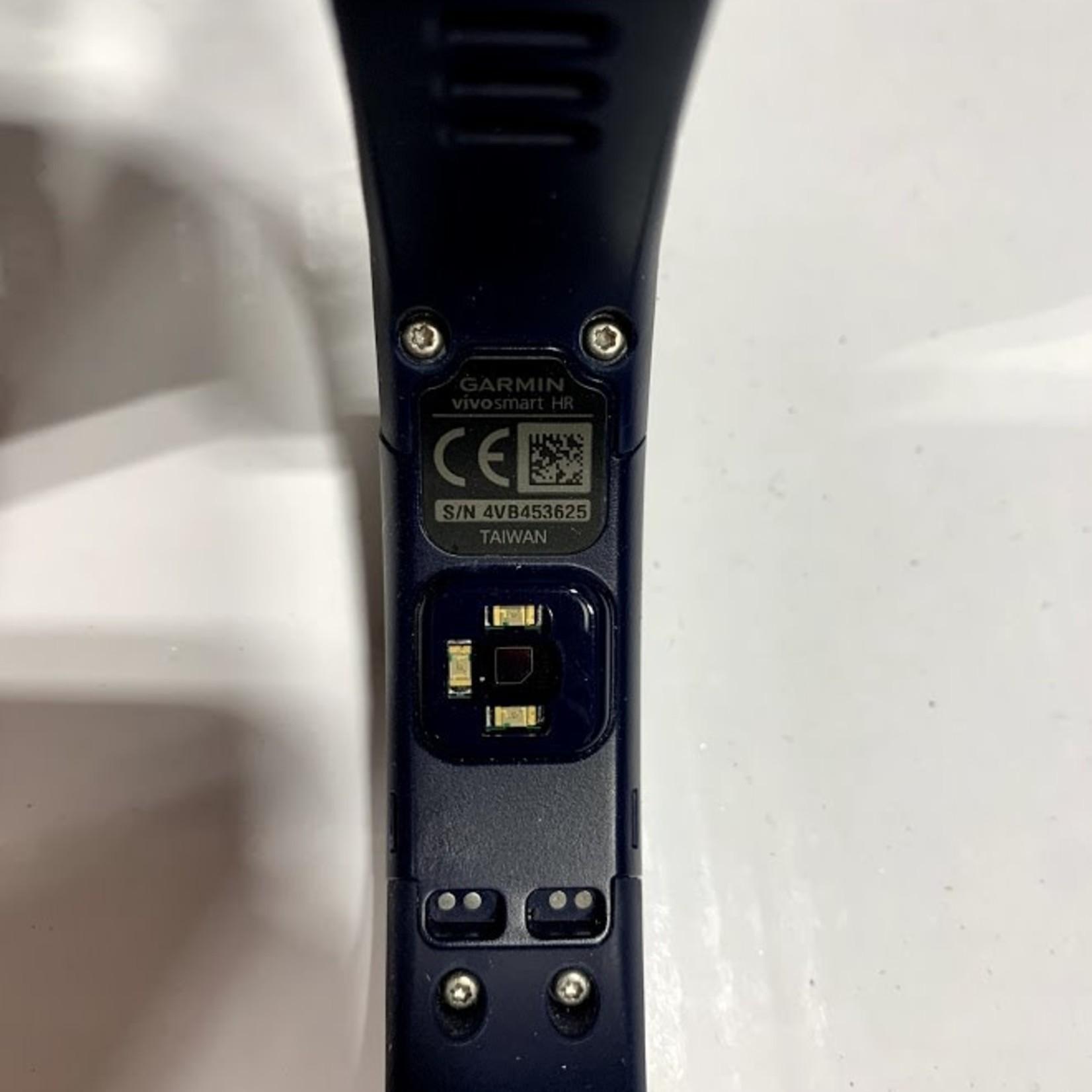 Garmin Vivosmart HR Smart Fitness Watch BLUE *Open box, scratch on face -Regular Fit