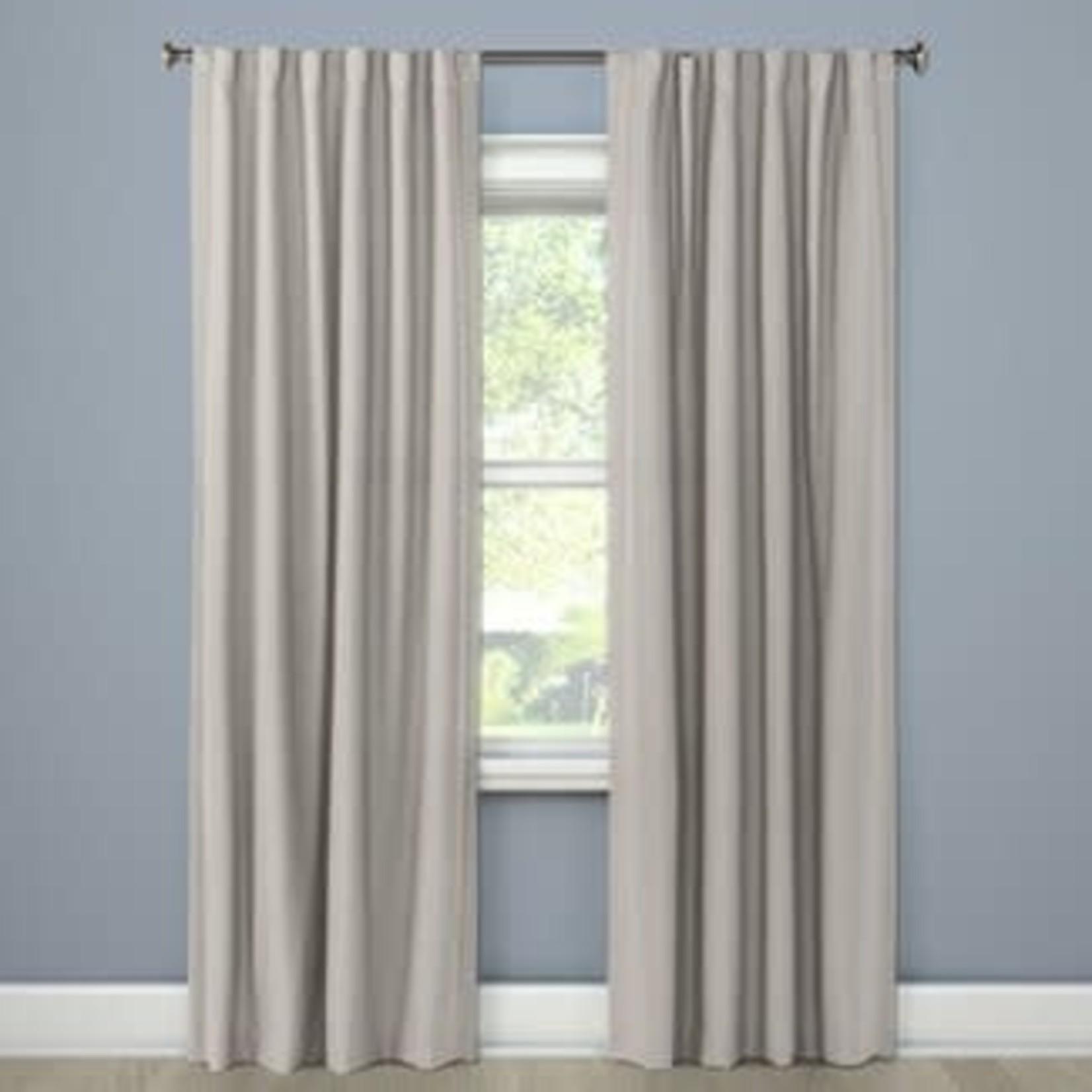 "Threshold Aruba Linen Blackout Curtain Panel 84""x50"" ONE PANEL"