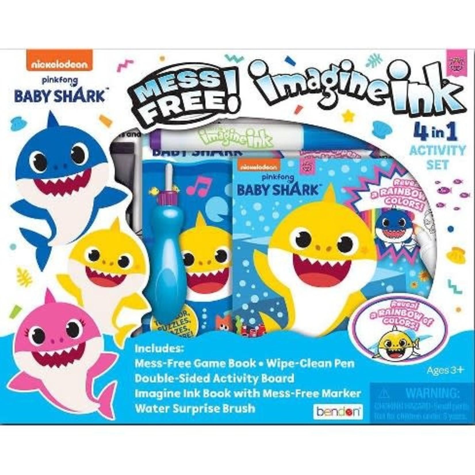 Baby Shark 4-in-1 Activity Kit