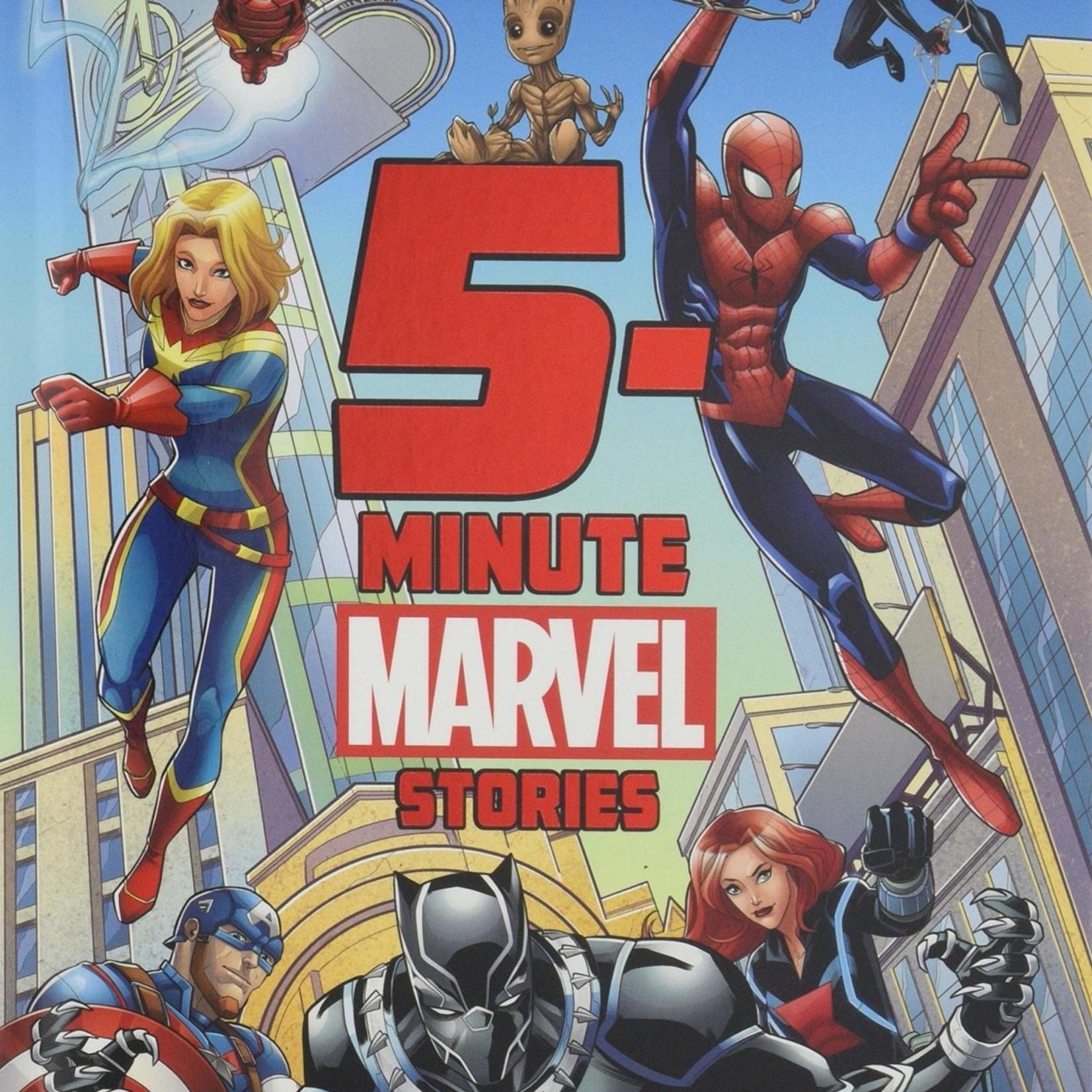 5 Minute Marvel Stories (Hardcover)