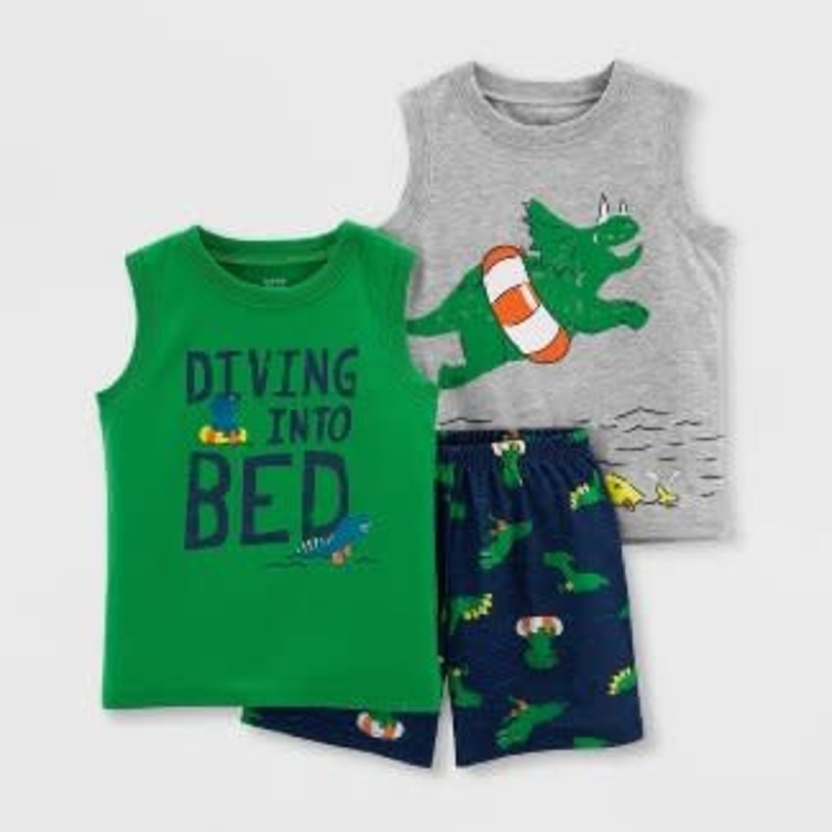 Just One You Made By Carter's Toddler Boys' 3pc PJ Set 4T