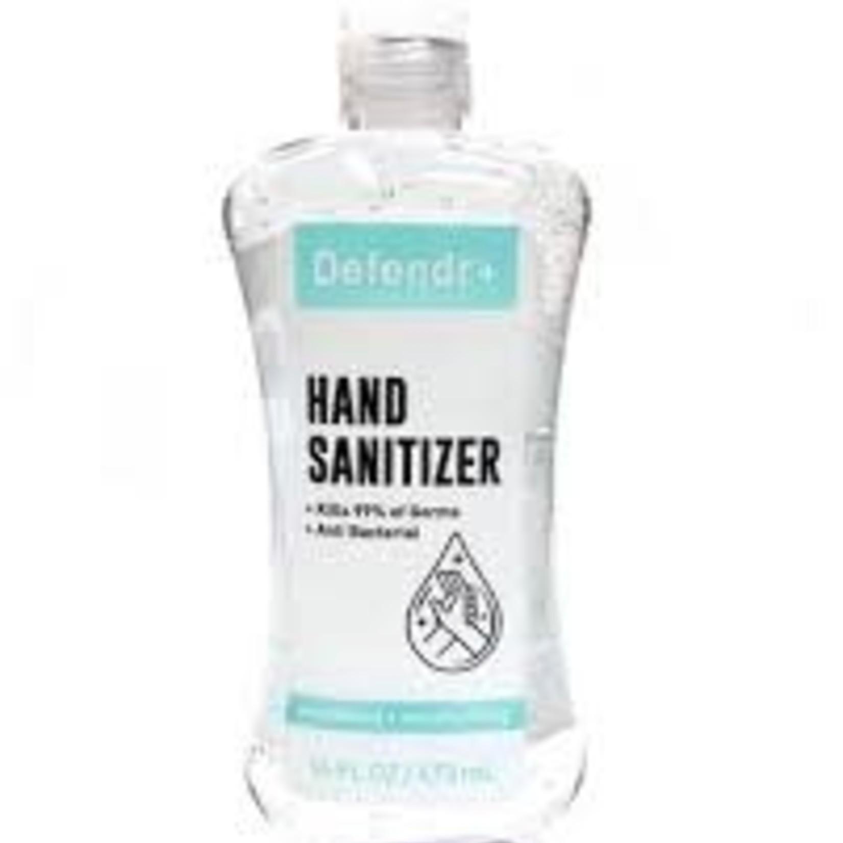 Defendr+ Hand Sanitizer 16floz -Unscented *CASE*