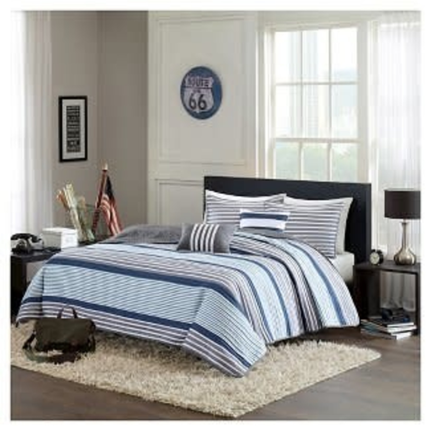 Blain Quilted Coverlet Bedding Set-Full/Queen