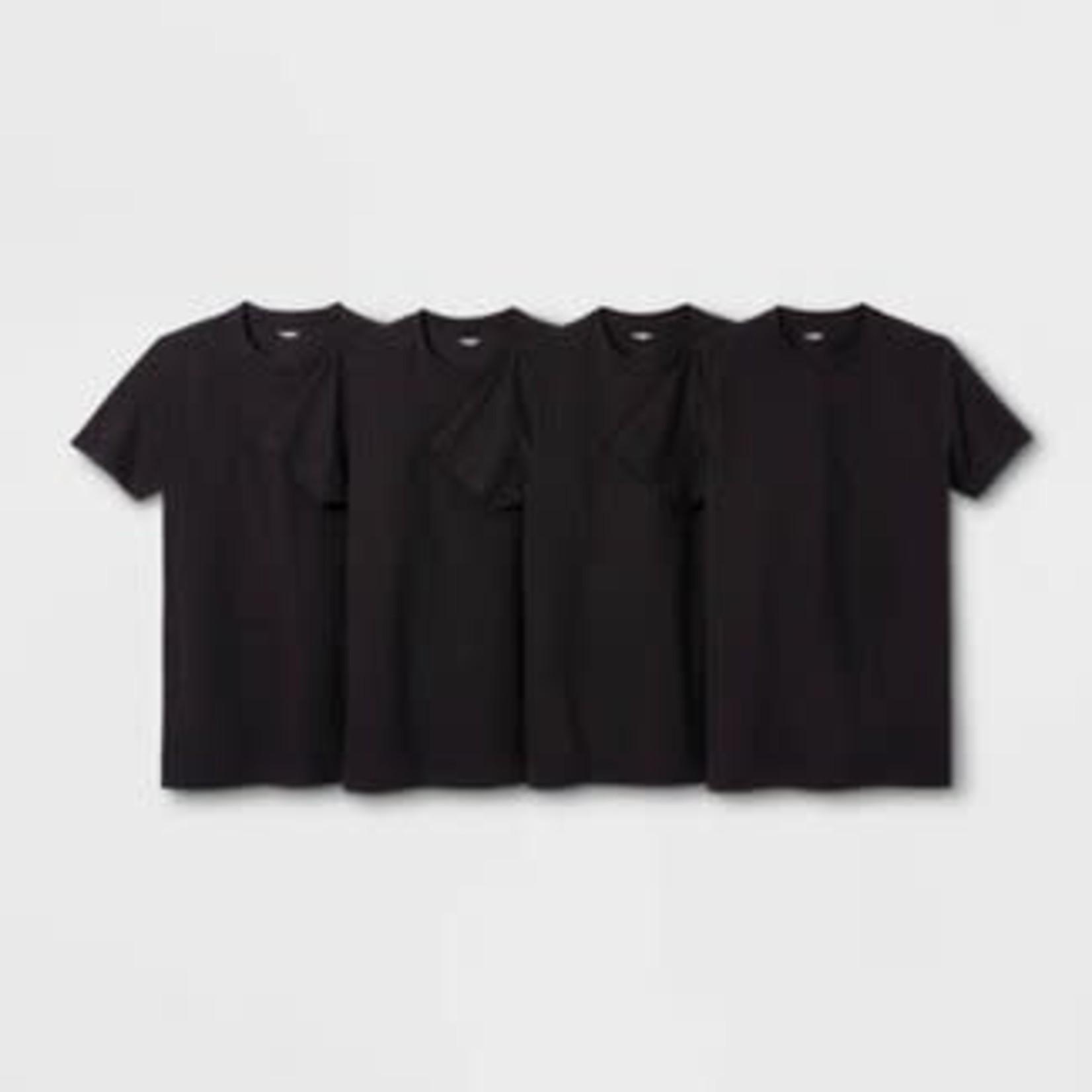 Men's Short Sleeve 4pk Crew-Neck T-Shirt