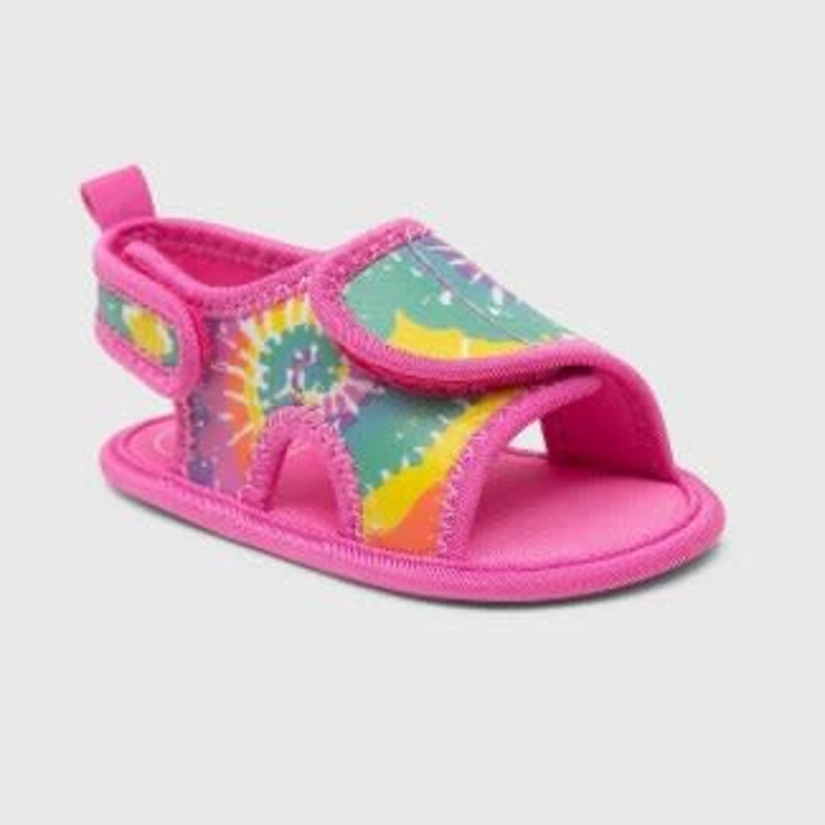 Ro+Me by Robeez Baby Girls' Tie-Dye Ankle Strap Sandals 12-18m