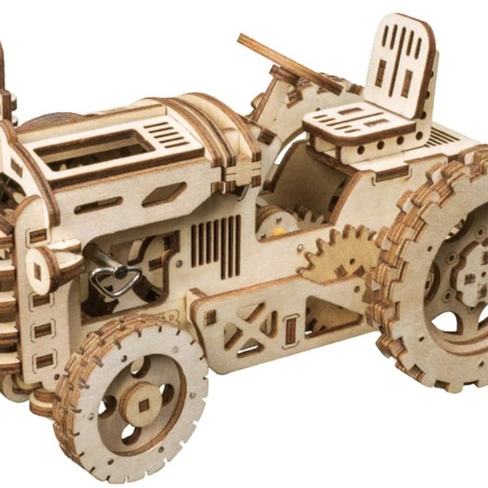 Rokr Mechanical Model 3D Wooden Puzzle -Tractor