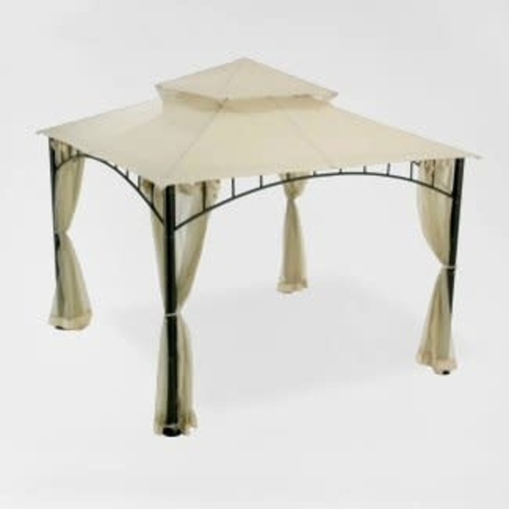 Madaga Replacement Canopy Beige - Garden Winds ** TOP CANOPY 2 TIER ONLY