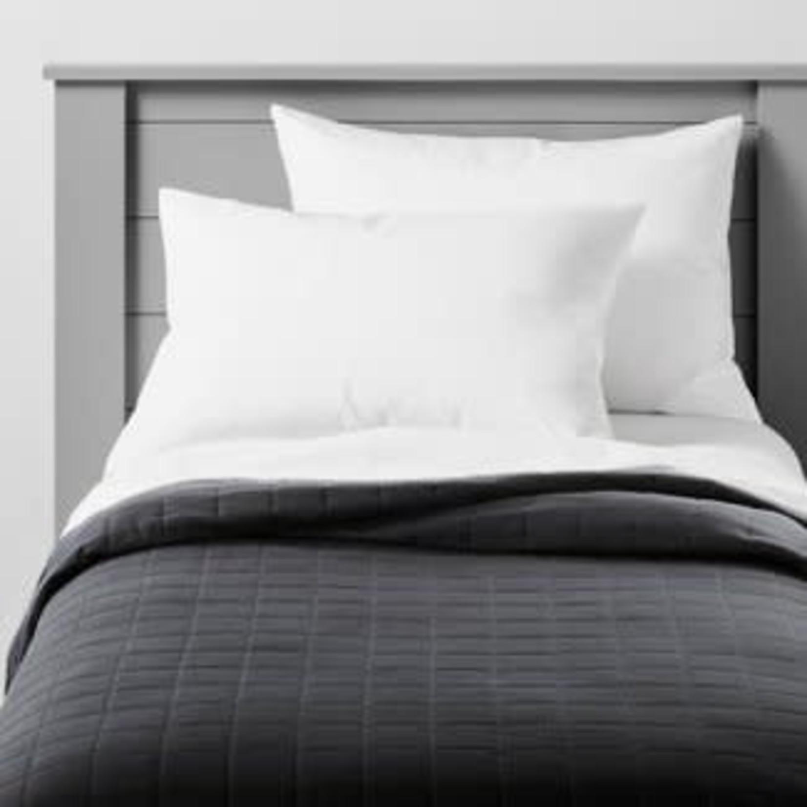 Box Stitch Microfiber Quilt - Pillowfort™ *QUEEN/FULL