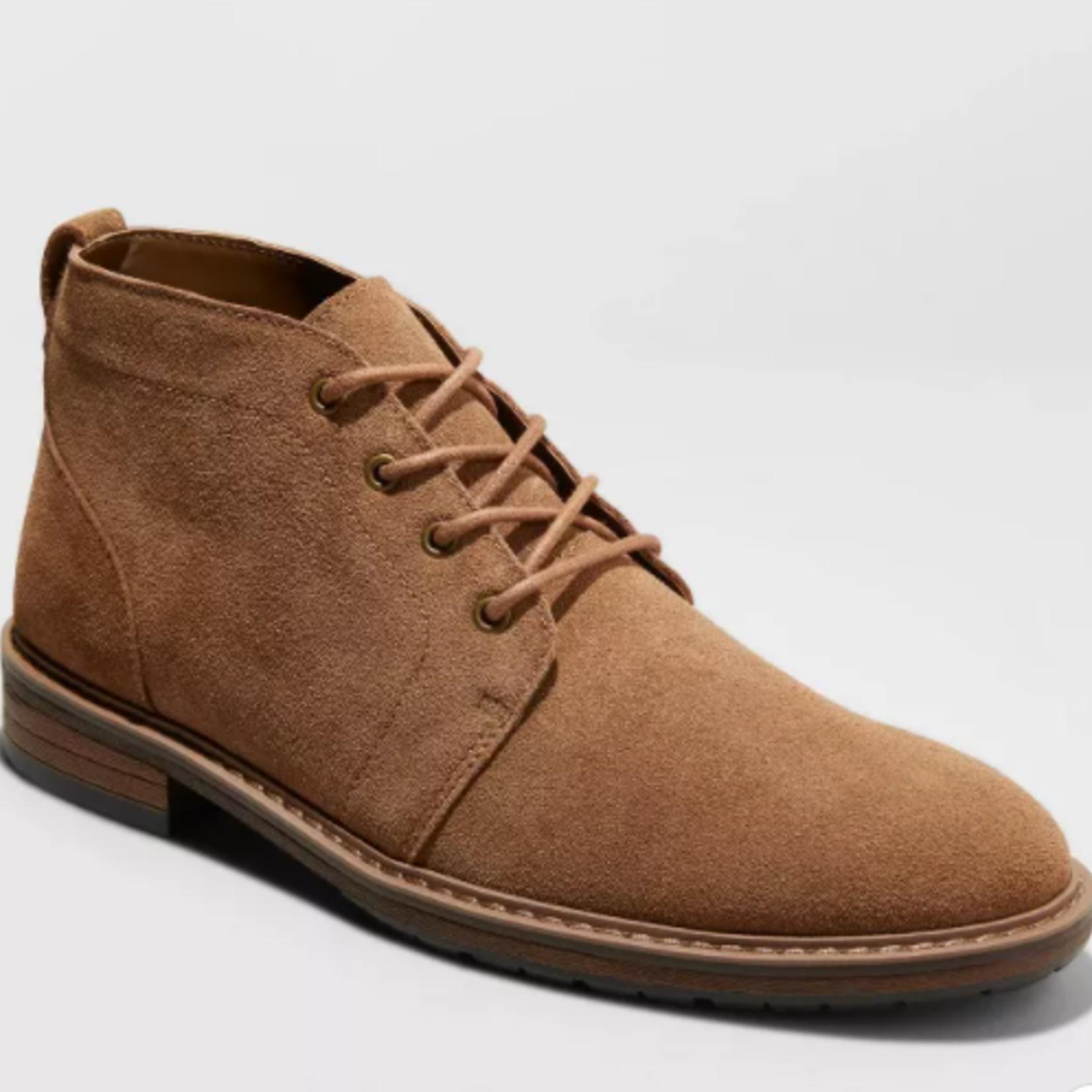 Goodfellow Men's Brantley Genuine Leather Boots -11.5