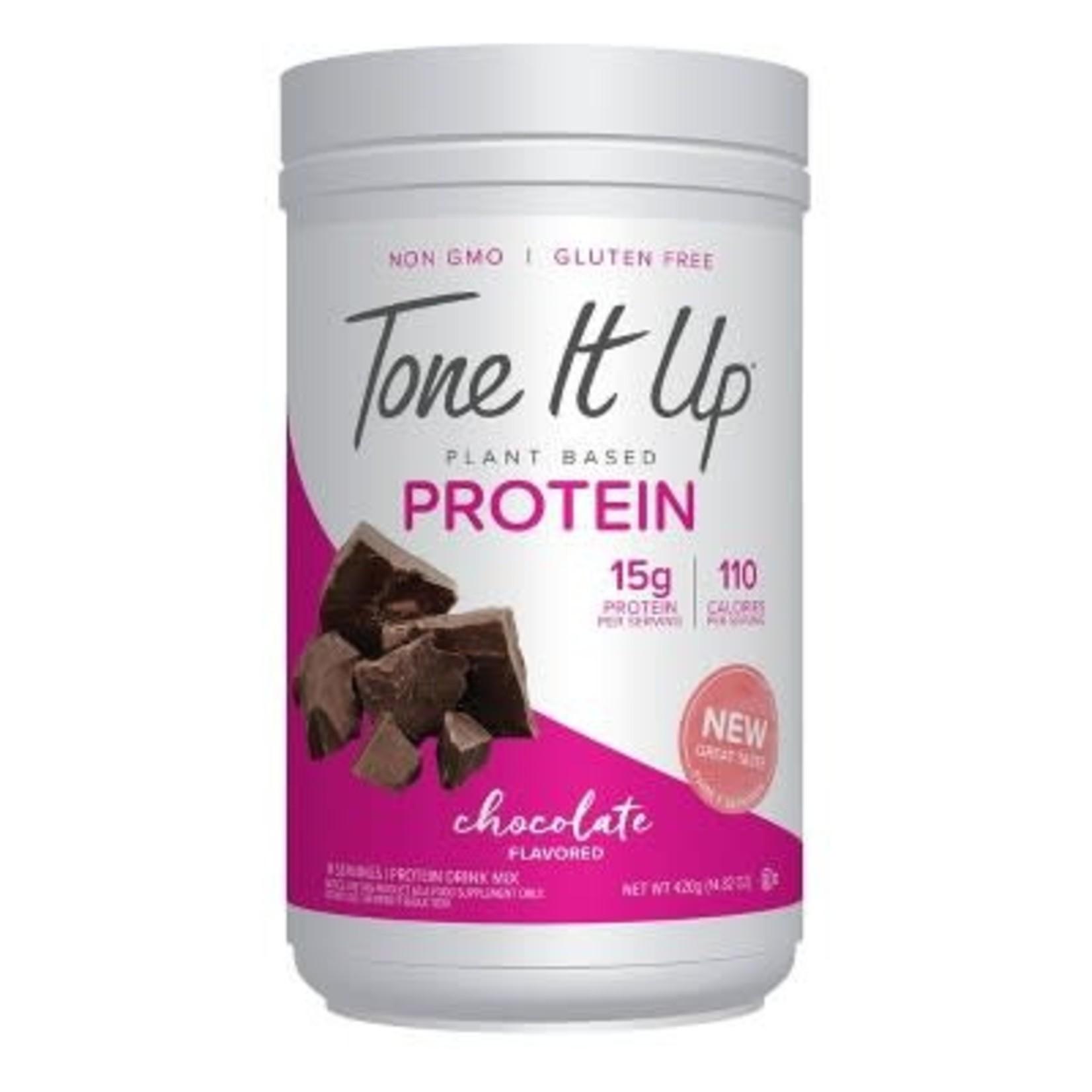 Tone It Up Plant Based Protein Powder - Chocolate - 14.82oz