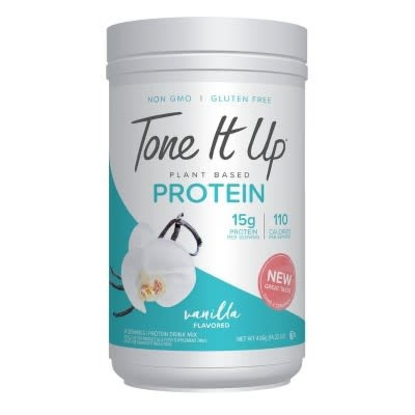 Tone It Up Plant Based Protein Powder - Vanilla - 14.82oz